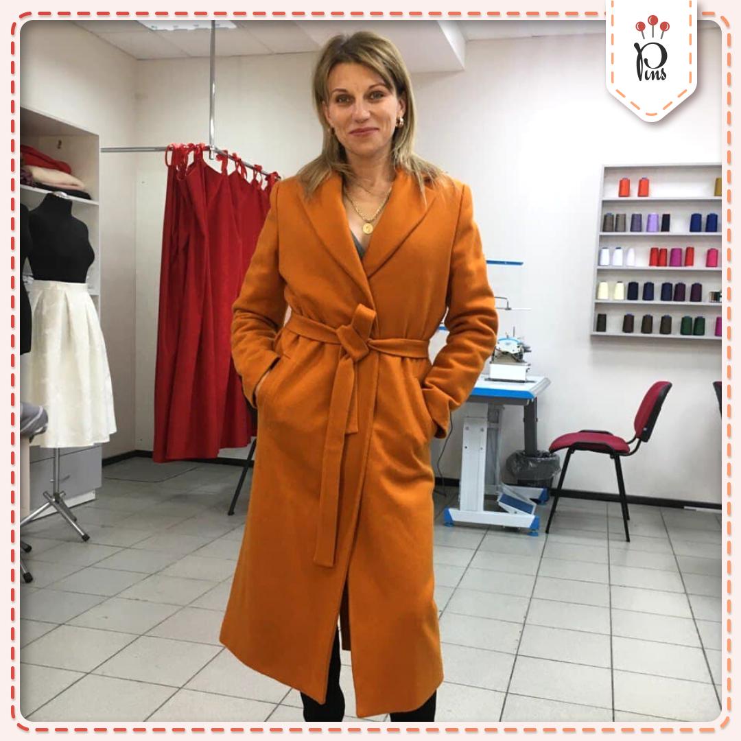 PINS Coat: пошив пальто